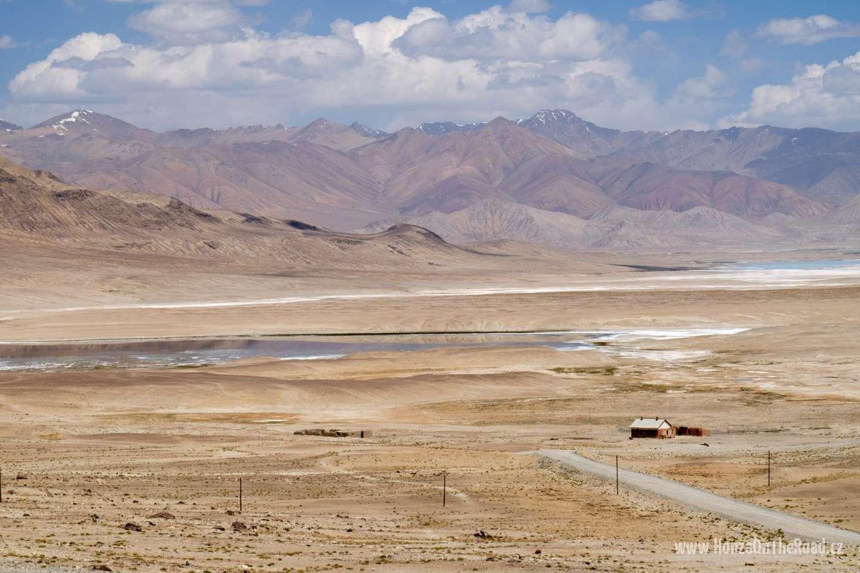 Tádžikistán, Slaná jezera - Tajikistan, Salty lakes