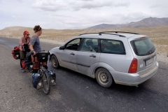 Tádžikistán, Autem až z Německa / Tajikistan, By car from Germany