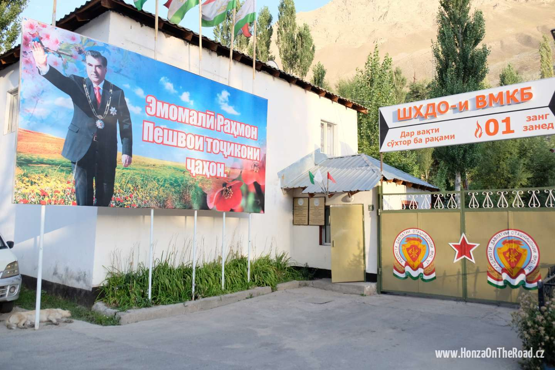 Tádžikistán, Město Chorog - Tajikistan, Town of Khorogh-2