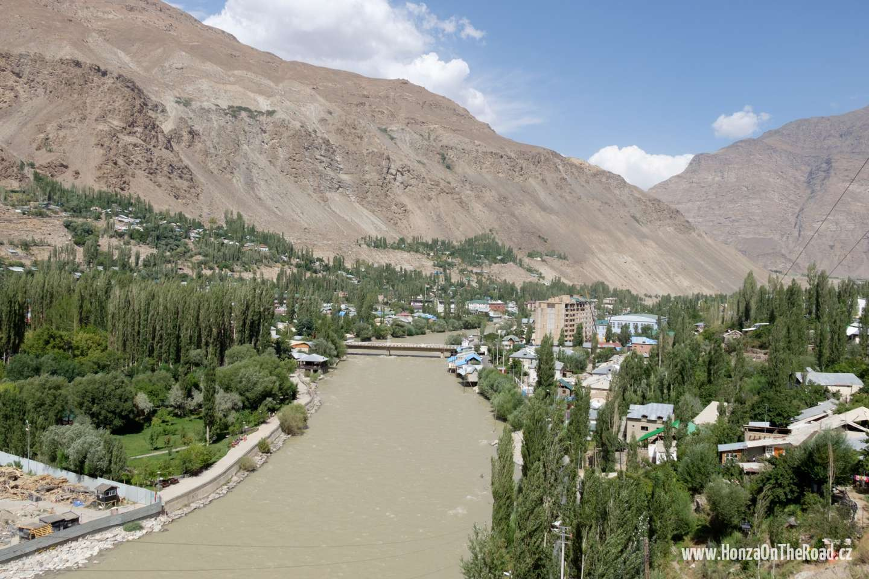 Tádžikistán, Město Chorog - Tajikistan, Town of Khorogh