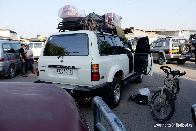 Tádžikistán, Odjezd do Pamíru - Tajikistan, Departure to Pamir