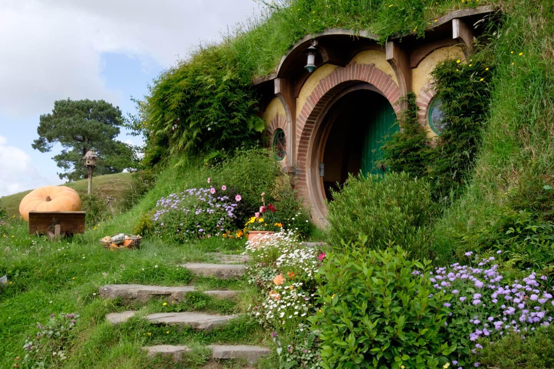 Nový Zéland, Dům Bilba Pytlíka / New Zealand, Bilbo Baggins' home