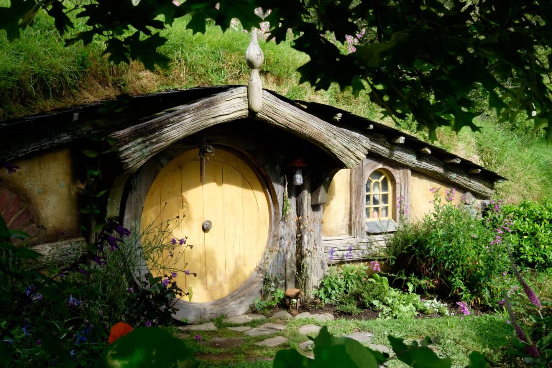 Nový Zéland, Hobití domek / New Zealand, Hobbit's home