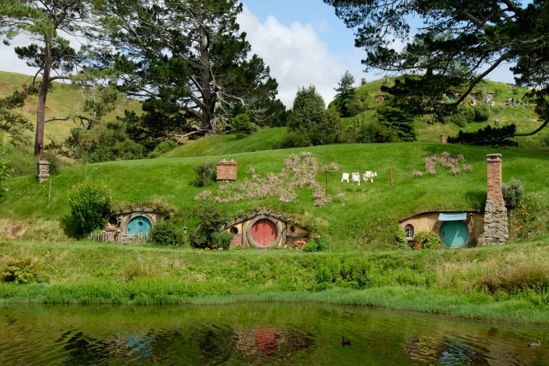 Nový Zéland, Hobitín / New Zealand, Hobbiton