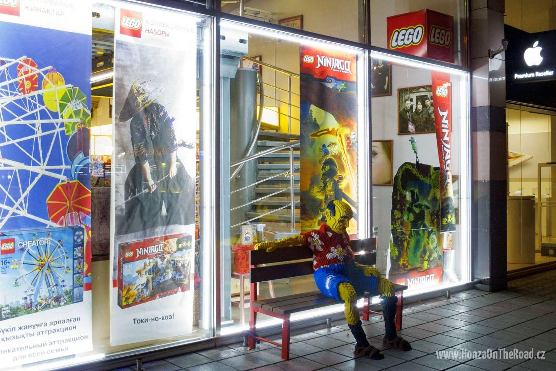 Kazachstán, Almaty, prodejna Lega - Kazakhstan, Almaty, Lego store-2