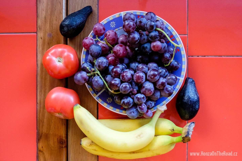 Chile, ovoce a zeleninu z tržiště - Chile, fruit and vegetable from a market