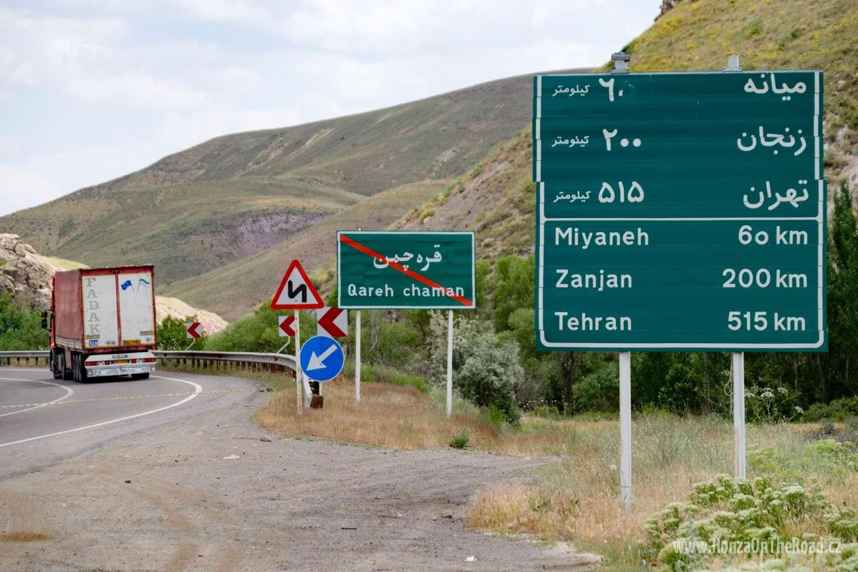 Írán, Perská abeceda -Iran, Persian alphabet