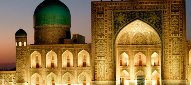 Uzbekistán – fotografie / Uzbekistan – gallery